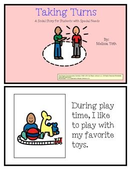 Here is a social story that can be printed, laminated and binded for durable re-use. Social stories are a great way to teach children with special needs and Autism various life skills and routines within their day. This 14 page social story walks through the behaviors expected in the classroom and raising your hand.
