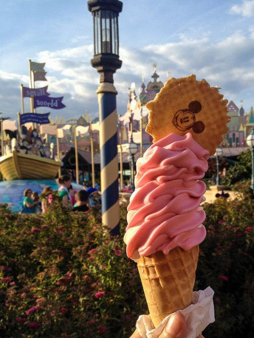 Ice cream from Fantasia Gelati, Disneyland Paris