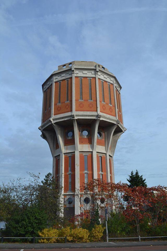 Watertoren Leiden, The Netherlands
