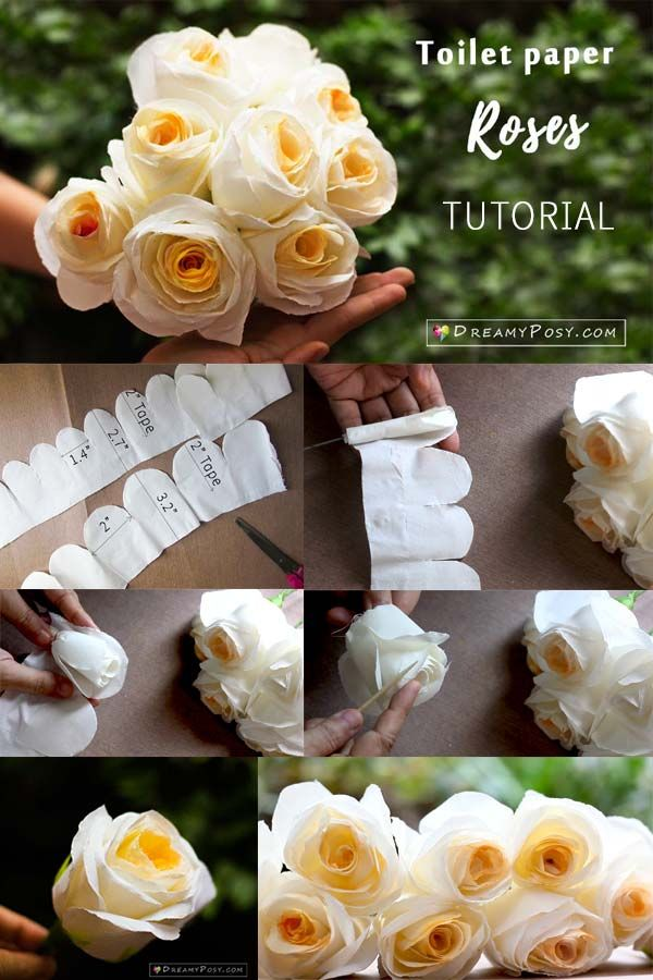 How To Make A Toilet Paper Rose So Quick And Realistic Diy