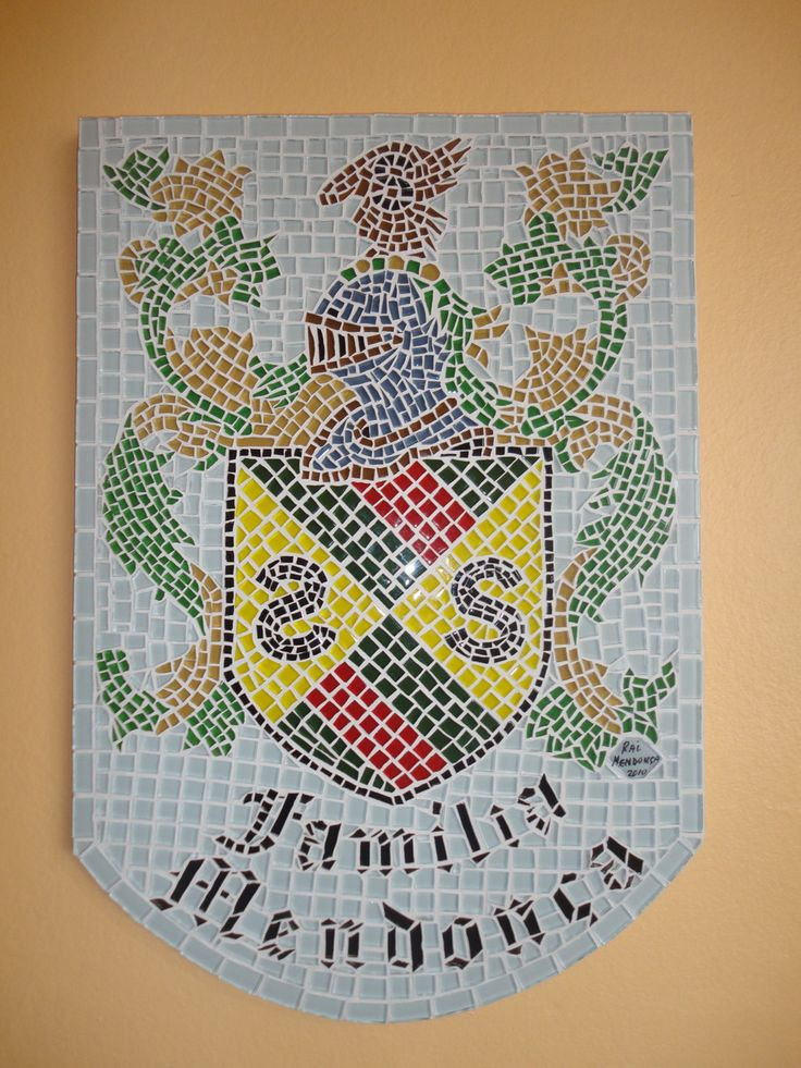 mosaico-brasao de familia