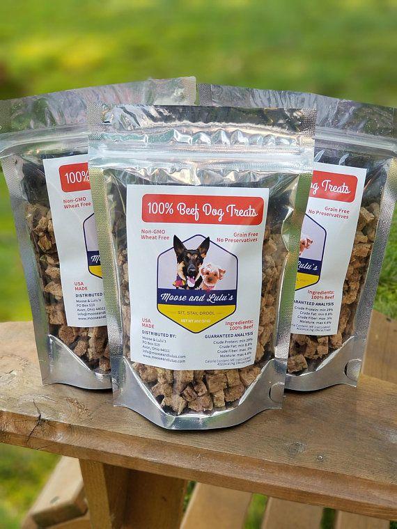 Beef Dog Training Treats Homemade Dog Treats Grain Free One