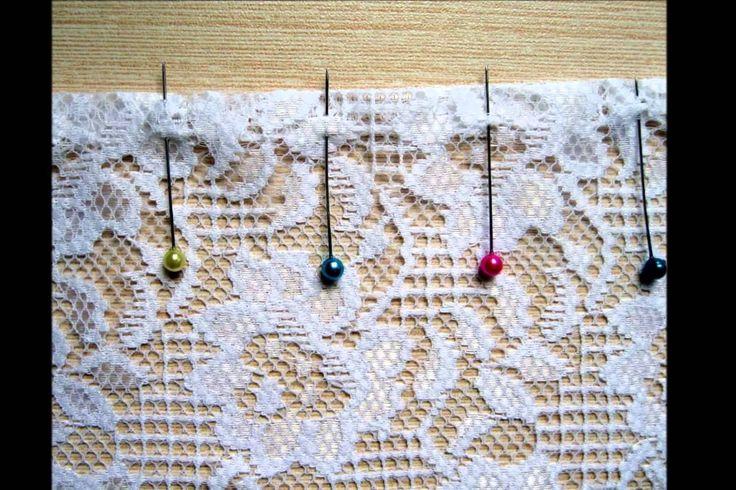 Как работать с кружевным полотном