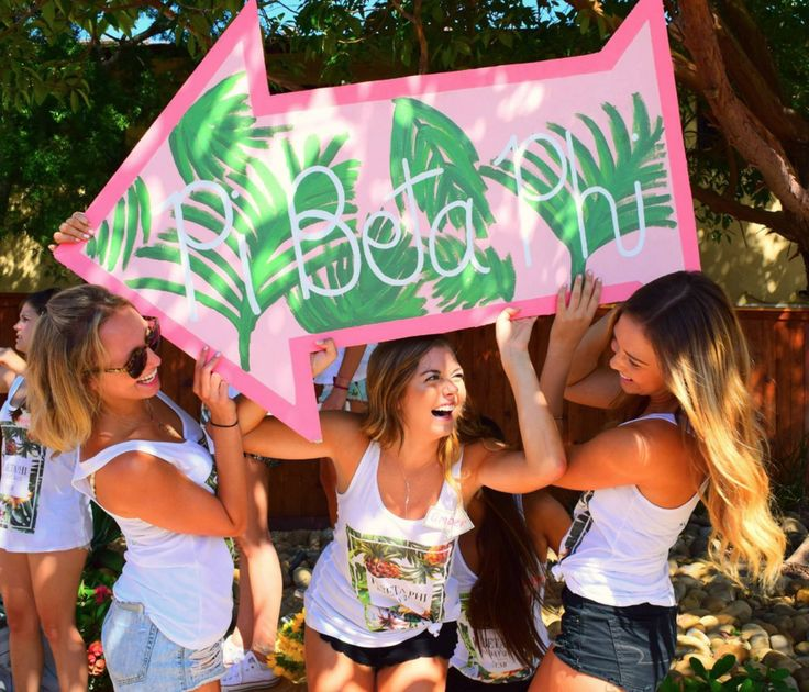 Pi Beta Phi at University of California, Santa Barbara #PiBetaPhi #PiPhi #sorority #UCSB