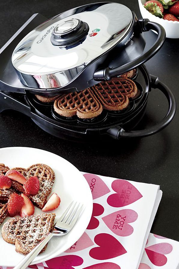 CucinaPro Heart-Shaped Waffle Maker