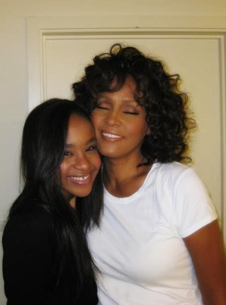 Whitney & Bobbi Kristina.