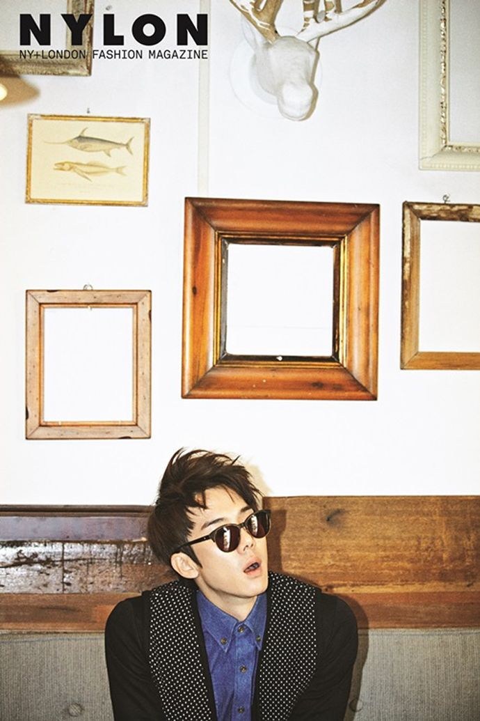 Yoo Yun Suk - Nylon Magazine December Issue '13