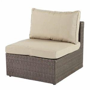 Bramblecrest Rio Modular Rattan Sofa Middle Chair