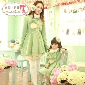Одинаковая зимняя одежда для деток и их родителей www.taobao-live.com