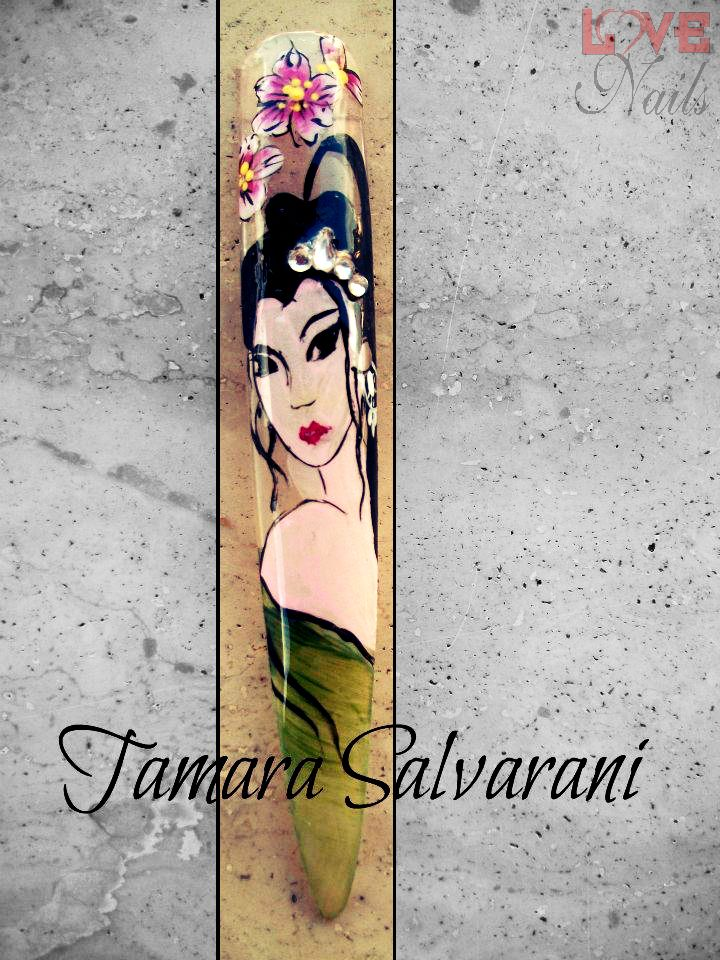 www.rdcosmetic.com Tamara Salvarani - nail artist #nailart #nailpolish #nails #geisha #japan