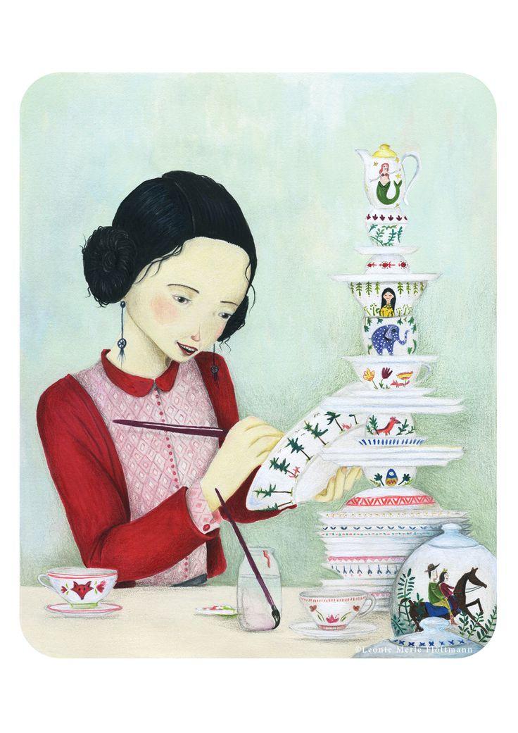 Madame Delafleur - Illustration