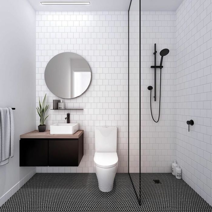 Kleine Schwarze 78 Space-saving Bathroom Ideas For Small Bathrooms