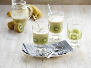 Kokos-kiwi smoothie