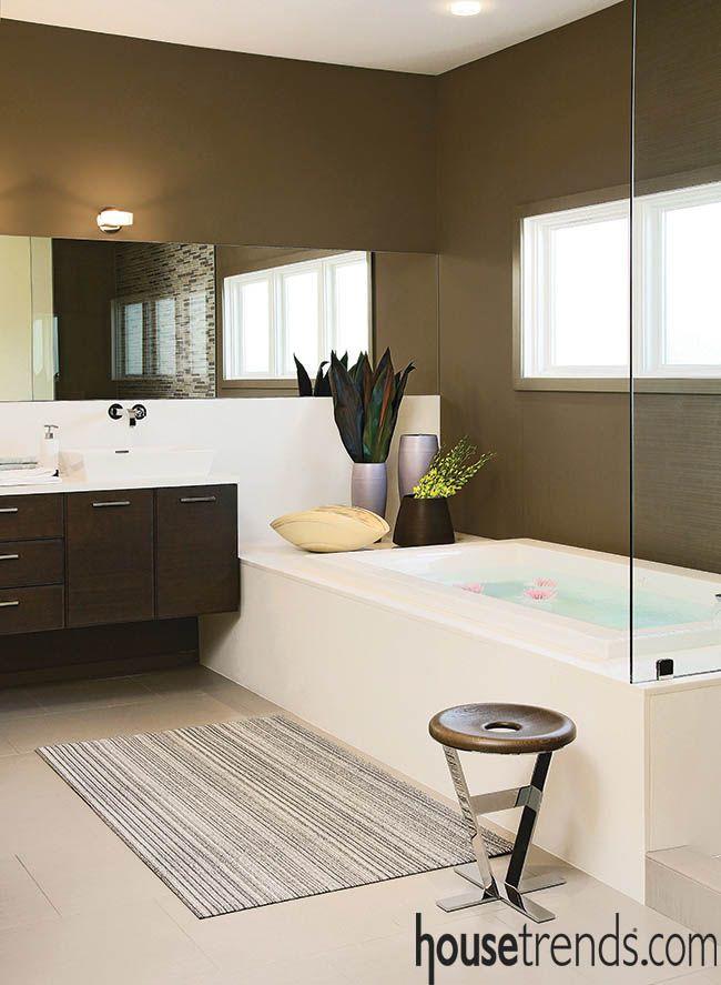 17 best ideas about zen bathroom design on pinterest zen for Spa themed bathroom ideas