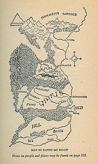 9 best riddle of stars images on pinterest science fiction books the riddle master of hed map of hed and its neighbors drawn by kathy fandeluxe Image collections