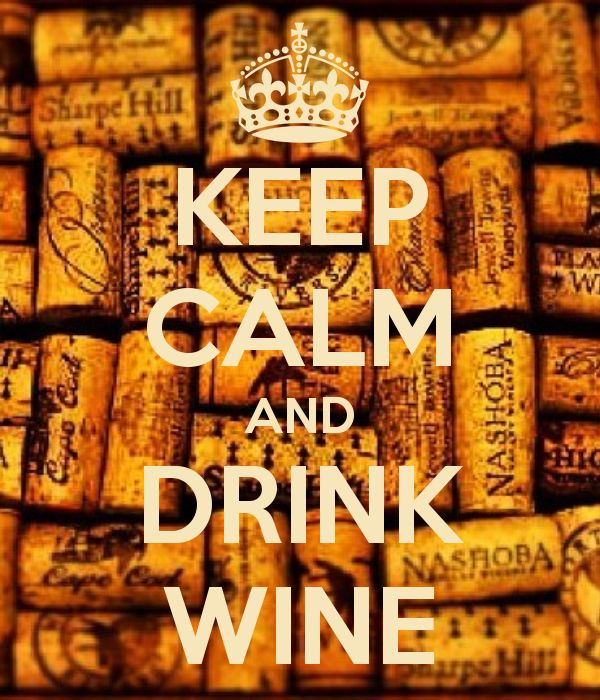 KEEP CALM AND DRINK WINE by Moi
