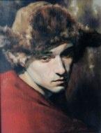 Homme au chapeau par Pierre Laforest, collection Michel Zimmermann ( Québec )
