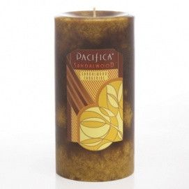 Pacifica Sandalwood Candle - 3x6