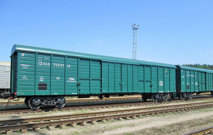 крытый вагон 158 м3