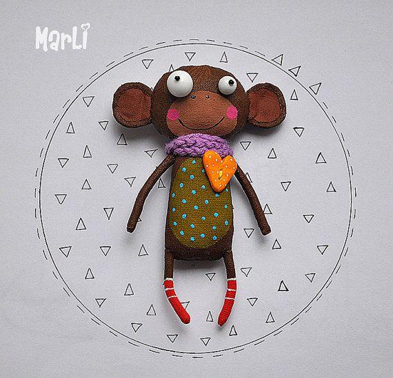 little monkey by MarLitoys on Etsy