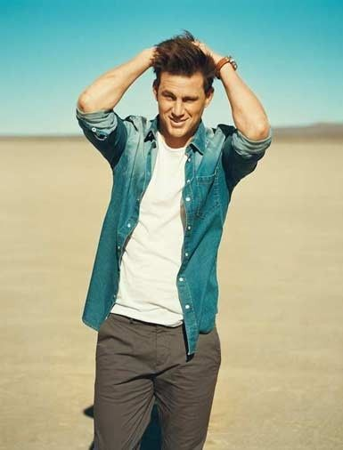 Channing Tatum….*sigh* If only you had met me before your wife….WE would be married and having a FANTASTIC time ;)