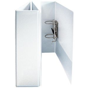 Bantex A4 70mm Insert Lever Arch File White | Officeworks