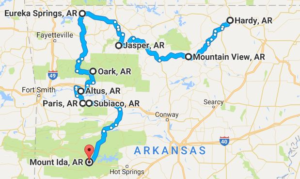 Take This Road Trip Through Arkansas's Most Picturesque Small Towns For A Charming Experience