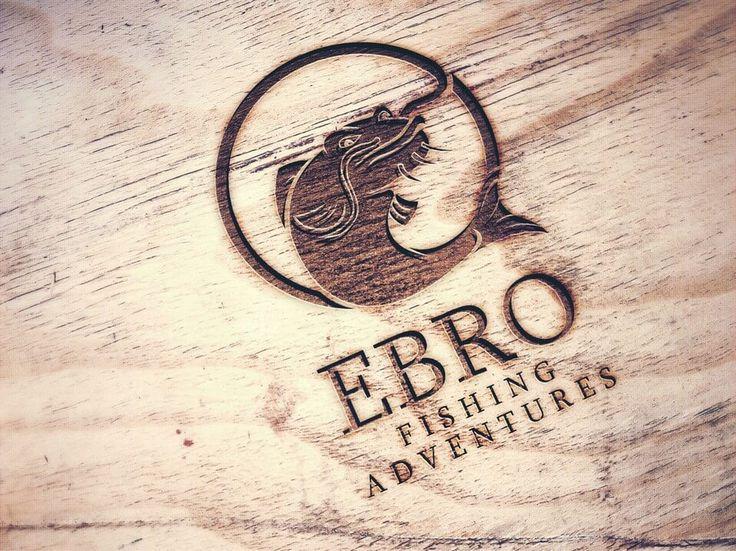 Koncepcja logo i pełne CI dla EBRO Fishing Adventures. #marketing #logo