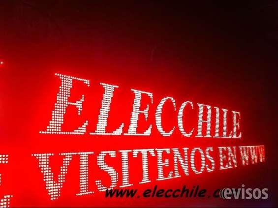 Fabrica de letreros led electronicos  FABRICAMOS LETREROS LED PROGRAMABLES A LA MEDIDA!!!!  ..  http://quinta-normal.evisos.cl/fabrica-de-letreros-led-electronicos-id-600667