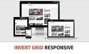 _CTPG_: Template Invert Grid - Responsive dạng lưới cực đẹ...