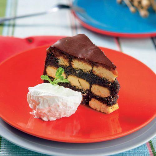 Nepečená maková torta