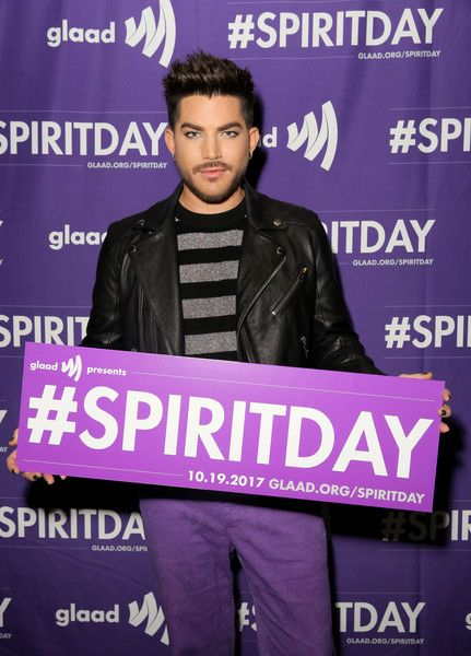 Adam Lambert Photos - Adam Lambert at Justin Tranter And GLAAD Present 'Believer' Spirit Day Concert at Sayer's Club on October 18, 2017 in Los Angeles, California. - Justin Tranter And GLAAD Present 'Believer' Spirit Day Concert