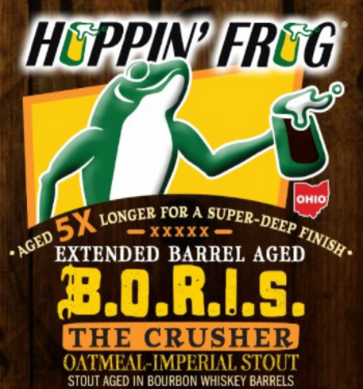 Hoppin' Frog - Extended Barrel-Aged B.O.R.I.S. The Crusher http://www.beer-pedia.com/index.php/news/19-global/4394-hoppin-frog-extended-barrel-aged-b-o-r-i-s-the-crusher #beerpedia #hoppinfrog #imperialstout #bourbon #beerblog #beernews #newrelease #newlabel #craftbeer #μπύρα #beer #bier #biere #birra #cerveza #pivo #alus