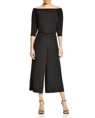 Theory Faley Mosaic Culotte Jumpsuit | Bloomingdale's