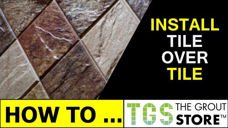 Tile Over Tile Shower Floor Never Seal Again Epoxy Bond Grout Tile Over Tile Shower Floor