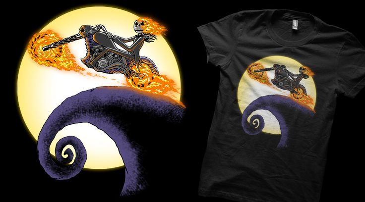 A Ride Before Christmas.  Give some love if you want this on a tee!! http://www.qwertee.com/product/a-ride-before-christmas