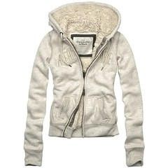 Sweat avet Fourrure Femme Abercrombie and Fitch SFAF61