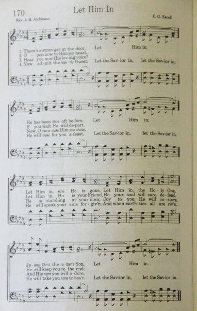 81 best hymns images on pinterest sheet music music notes and let him in stopboris Images