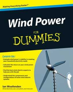 Maybe you're not T. Boone Pickens, but you can build your own home-sized wind-power empire right in your back yard. Wind Power For Dummies supplies all the guidance you need to install and maintain a sustainable, cost-effective wind generator to power your home for decades to come.