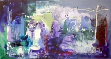 """Saatchi Art Artist Paresh Nrshinga; Painting, """"Midnight Kingdom"""" #art"""
