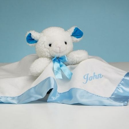 12 best babys first birthday gifts images on pinterest babies happy birthday baby boy lovie lamb personalized negle Choice Image