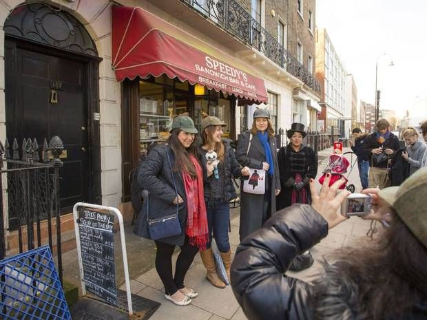 Sherlock's Homes! Fans flock to Bloomsbury address used in BBC's hit show - News - TV & Radio - The Independent