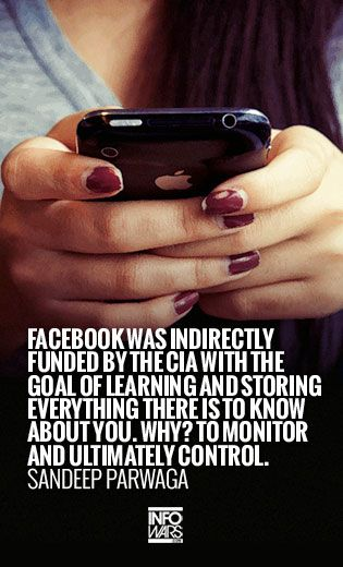 facebook gives your information contained in facebook account to NSA for total-control life....read