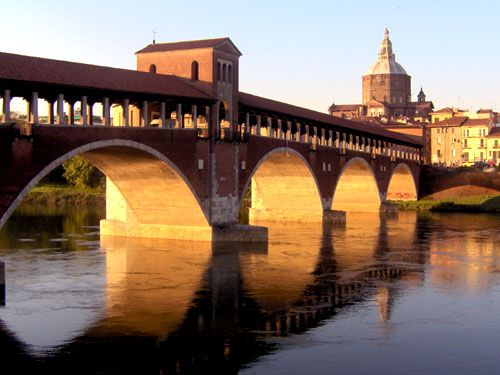 Pavia. Actually I'm always here, and I'm not tired about it yet.