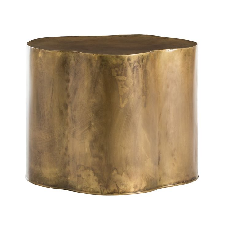 Arteriors Lowry Side Table On Sale. We Love The Irregular Shape Of This  Antique Brass Low Side Table.