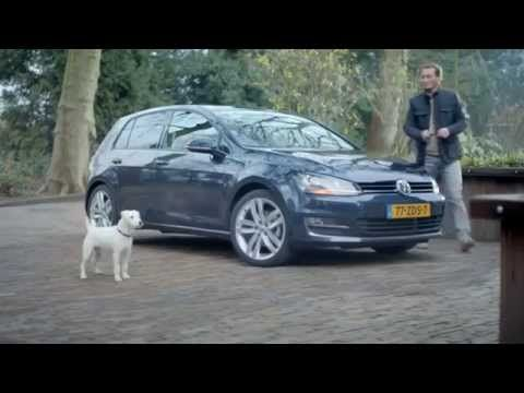 El perro que se cree carro - video Trailer comercial VW Golf VII - Very Funny, comico, gracioso HD - YouTube