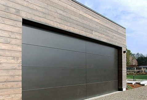 San Francisco Bay Area Modern Garage Doors in a Minimalistic Design | Dynamic Garage Door Projects