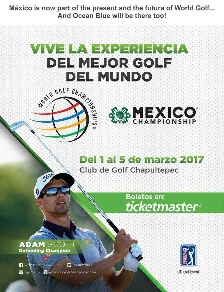 The World Golf Championship marked its inaugural year at Club de Golf Chapultepec March 1st to the 5th! Mexico is now part of the present and future of World Golf & Ocean Blue Magazine was excited to be a part of it!
