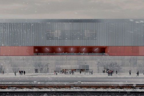 EM2N · New hockey and volleyball arena