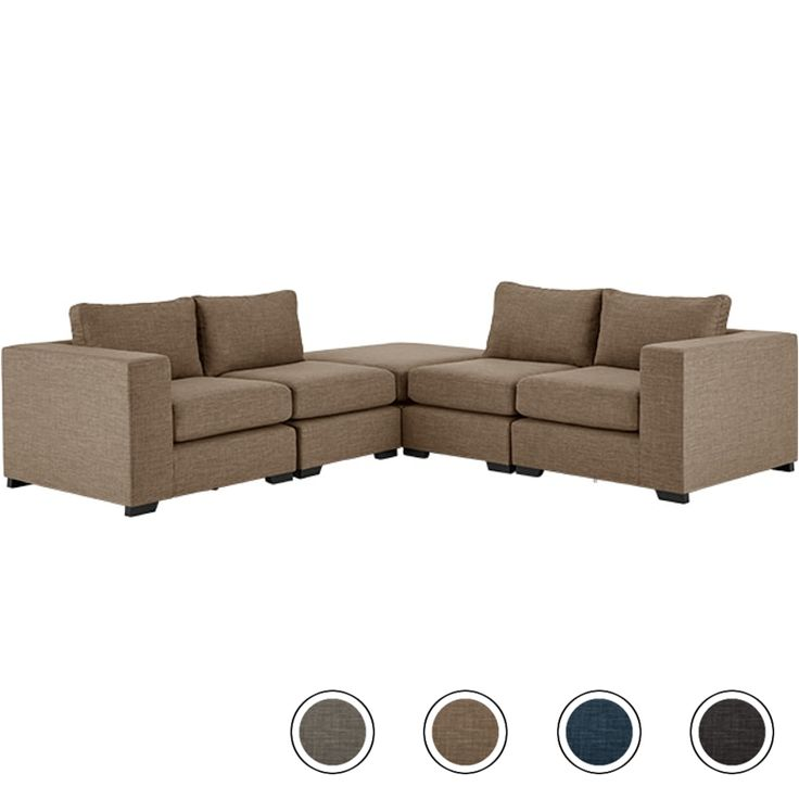 Mortimer Modular Corner Sofa Group, Caramel Beige from Made.com. Beige/Grey/Brown/Neutral. A single chair from the Mortimer Collection, perfectly pr..